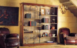 eiken open boekenkast frans eiken
