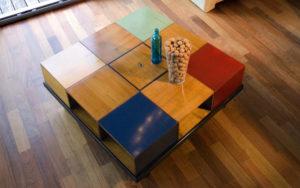 salontafel felix monge vierkant kersen