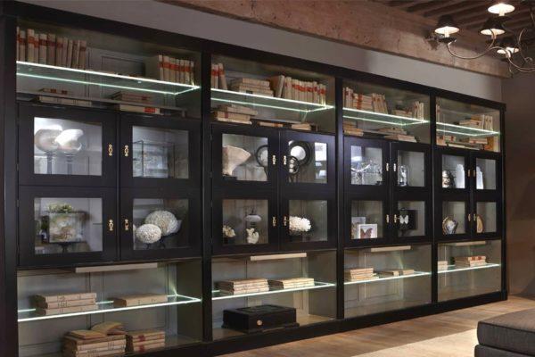 aanbouwkast aanbouwwand boekenwand boekenkast grange