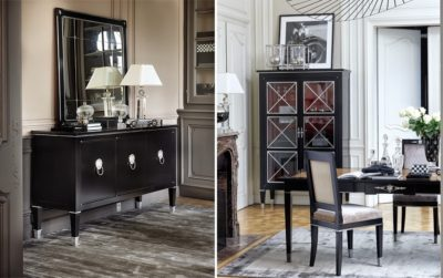 Bahut Haussmannbureaus smellink interiors smellink classics meubelen furnitureBlack