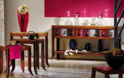 wandtafel siderale klassieke meubelen kleinmeubelen