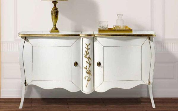 kommode dressoir klassiek wit bournais bohemian shabby smellink interiors smellink classics