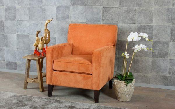 kleine fauteuil ribstof