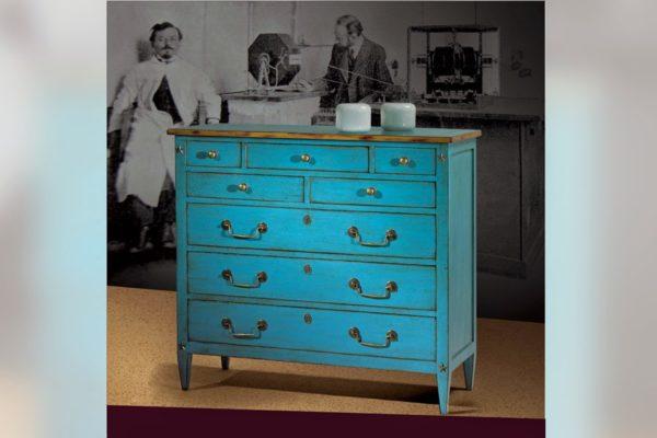 lichtblauw ladekastje bayonne collectie