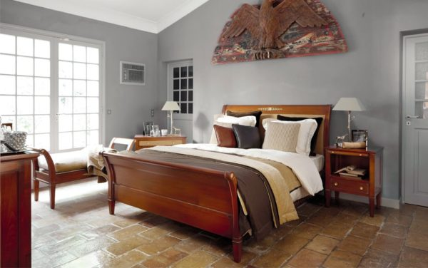 houten franse slaapkamer grange haussmann