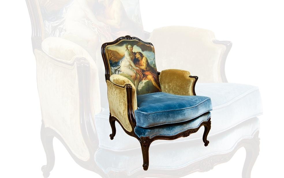 franse louis philippe fauteuil