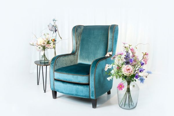 engelse oorfauteuil wingchair duresta tetrad