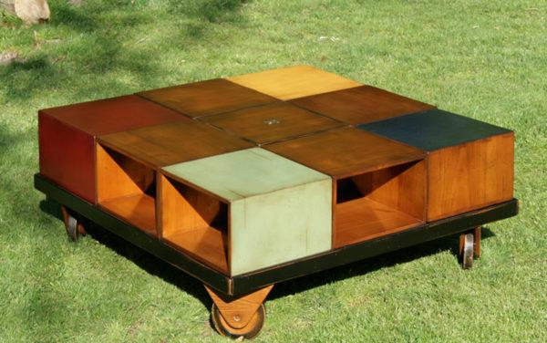 vierkant kubus tafel