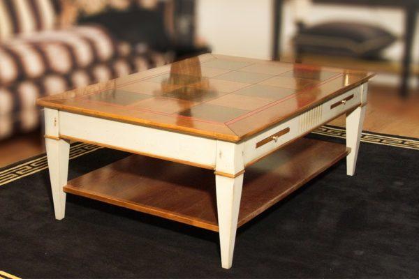 Salontafel Glas Kersenhout.Exclusieve Design Salontafels Smellink Interiors