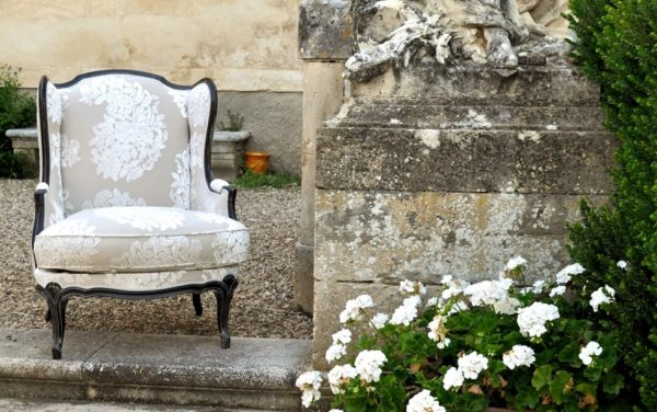 Franse louis philippe stoel fauteuil