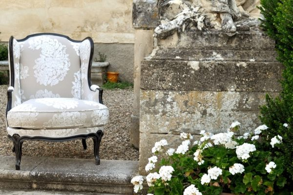 Franse louis philippe stoel fauteuil
