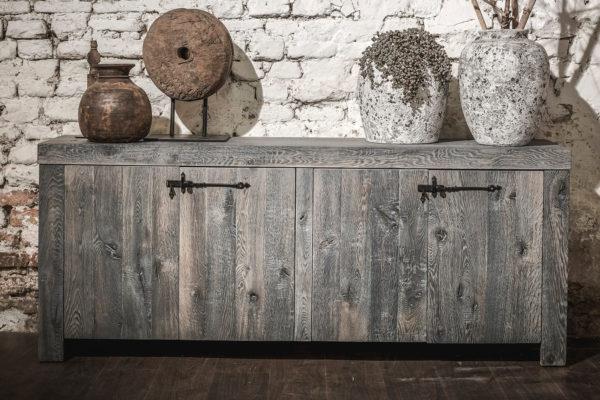 dressoir eiken havezathe sloophout lounge grijs