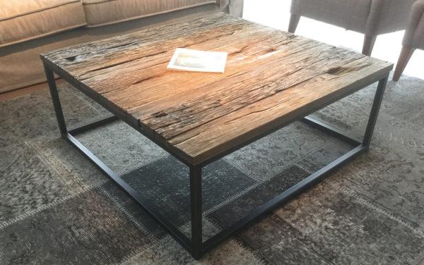 sloophout salontafels vierkant rechthoekig