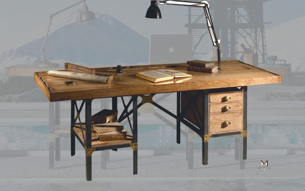 Monge Desk (1bureaus smellink interiors smellink classics meubelen furniture