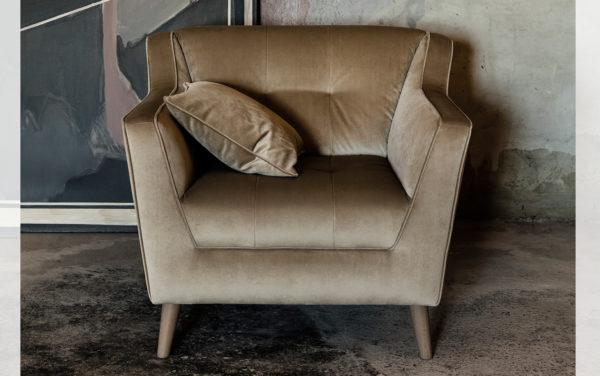 passe partout tijdloos modern eigentijds fauteuil gestoffeerd