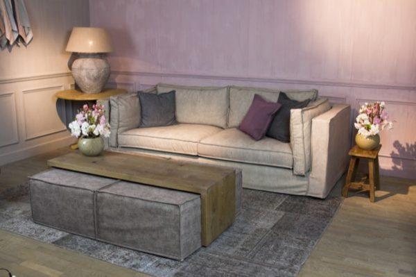 cosy salontafel poef hokker footstool salontafel lounge