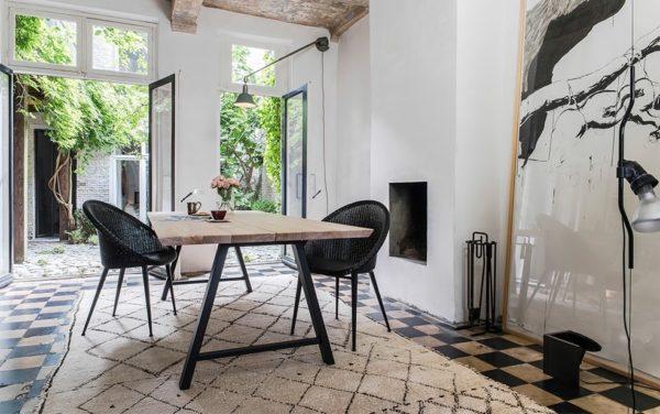 Albert tafel en Jack chair eethoeken smellink interiros smellink classics