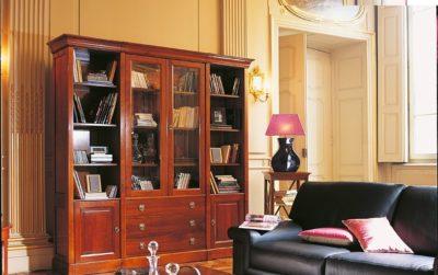 Louis Philippe Brun bookcase aanbouwwanden bücherregale smellink interiros smellink classics