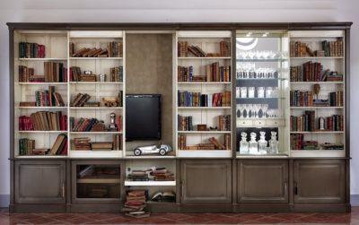 Modulable TV bookcase aanbouwwanden bücherregale smellink interiros smellink classics