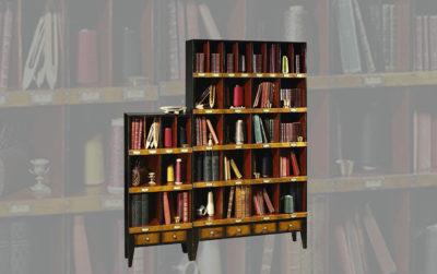Monge Bookcase aanbouwwanden bücherregale smellink interiros smellink classics