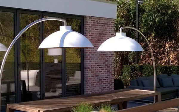 dome heatsail terrasverwarming met muziek en licht