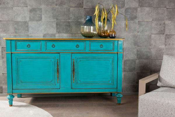 Dressoir dressoirs klassieke dressoirs klassiek dressoir commode lage kast gekleurd