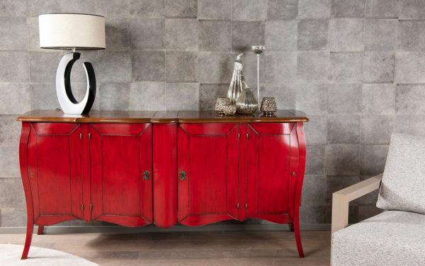 The bournais klassiek dressoir kersenhout commode lage kast kast op maat