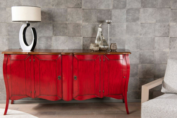 The bournais klassiek dressoir kersenhout commode lage kast kast op maat