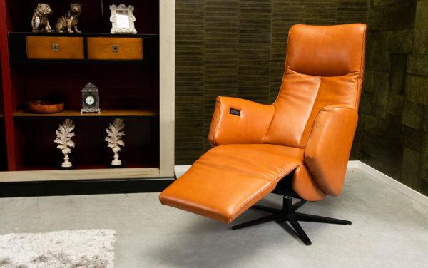 Relexfauteuil lazyboy de toekomst leren fauteuil klassiek design modern
