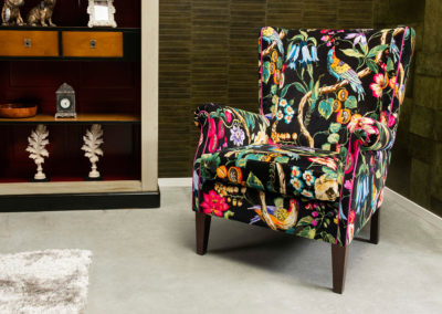 Fauteuil William flower