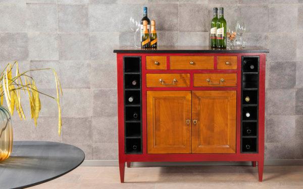wijnkastje Felix Monge vinoloog wijn meubel opbergkast voor wijn wijnkelder