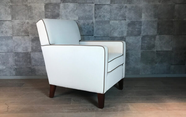Fauteuil Bryant wit