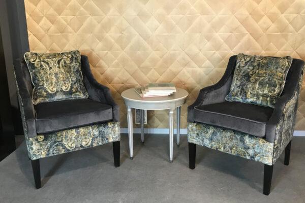 kleine bijzet fauteuil