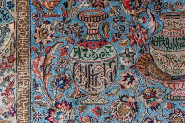 handgeknoopt kleed vloerkleed tapijt karpet carpet pers perzisch kleed