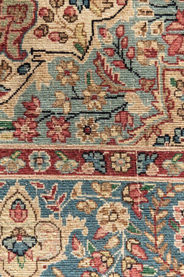 Handgeknoopt kleed Perzisch pers tapijt karper carpet berber