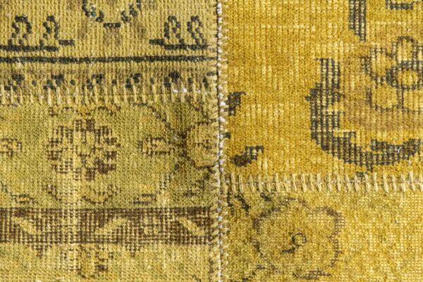 karpet kleed pers patchwork handgeknoopt