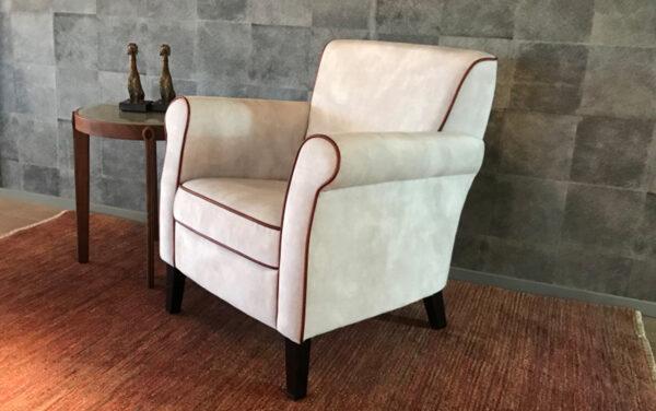 kleine bijzet fauteuil stoel