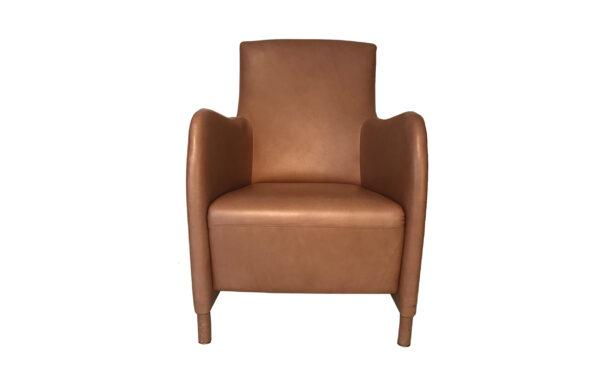 Leren fauteuil BW