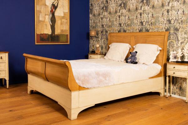houten bed Grange